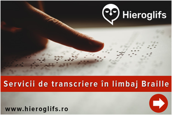 transcriere braille
